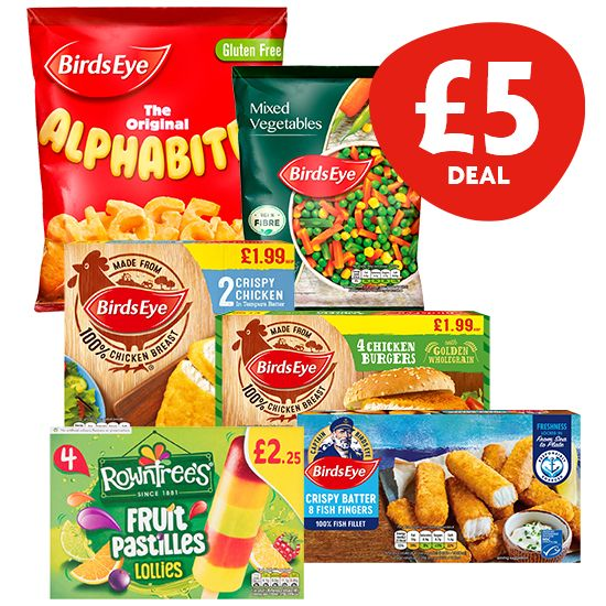 £5 Freezer Deal