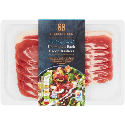 Co-op Irresistible British Bacon