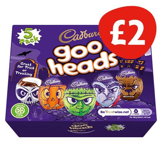 Cadbury Goo Heads