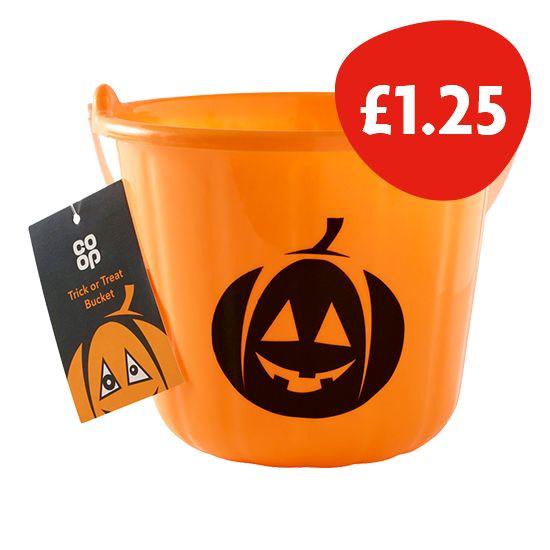 Co-op Halloween Bucket