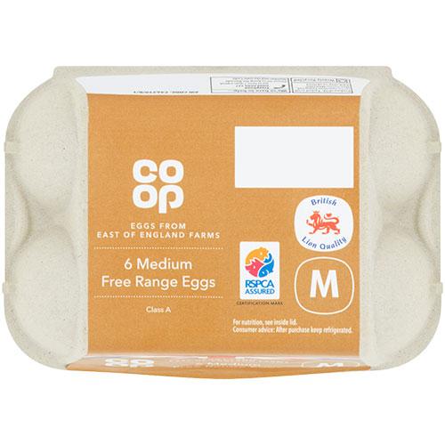 Co-op British Free Range Eggs
