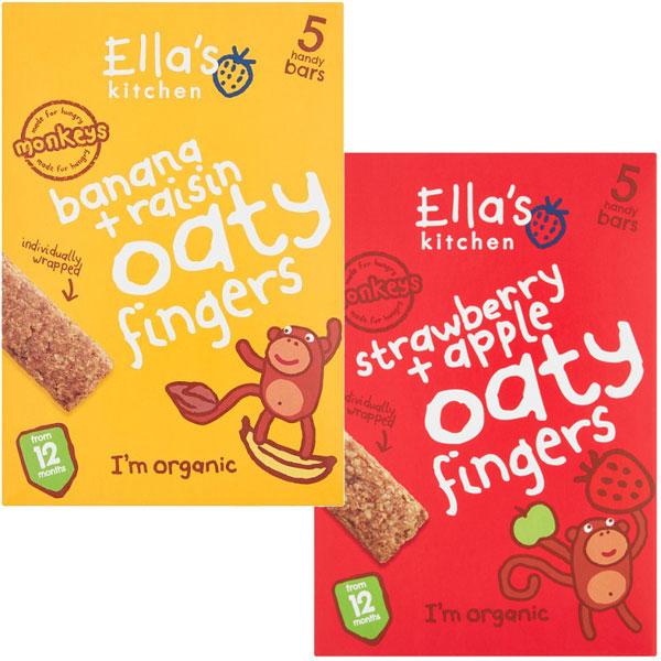 Ella's Kitchen Oaty Bars