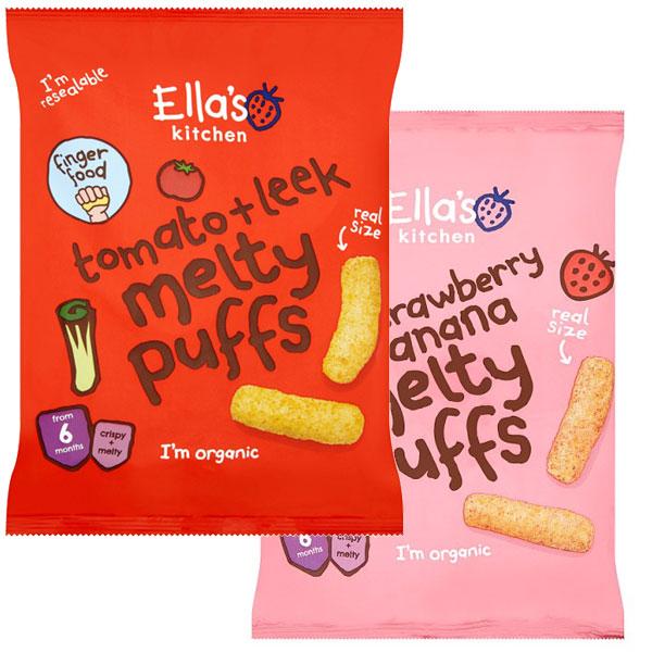 Ella's Kitchen Melty Puffs