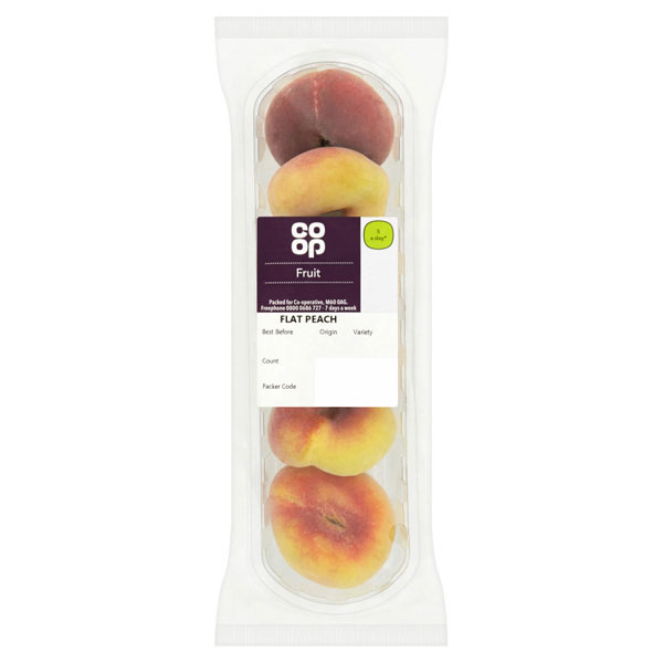 Co-op Flat Peaches