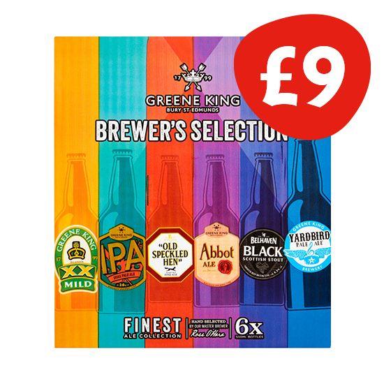 Greene King Brewers Selection