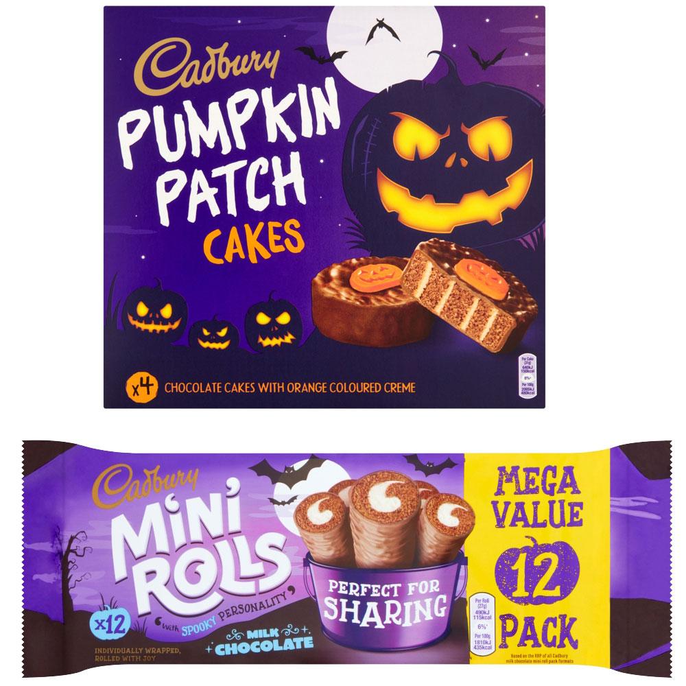 Cadbury Halloween Cakes