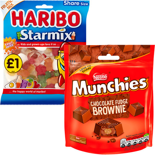 Haribo and Nestle Munchies