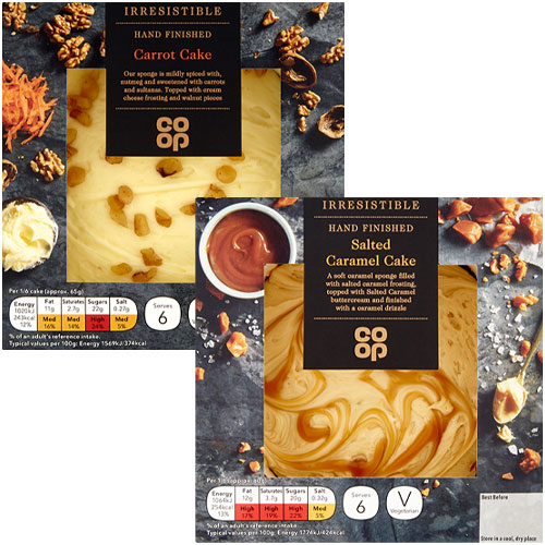 Co-op Irresistible Cakes