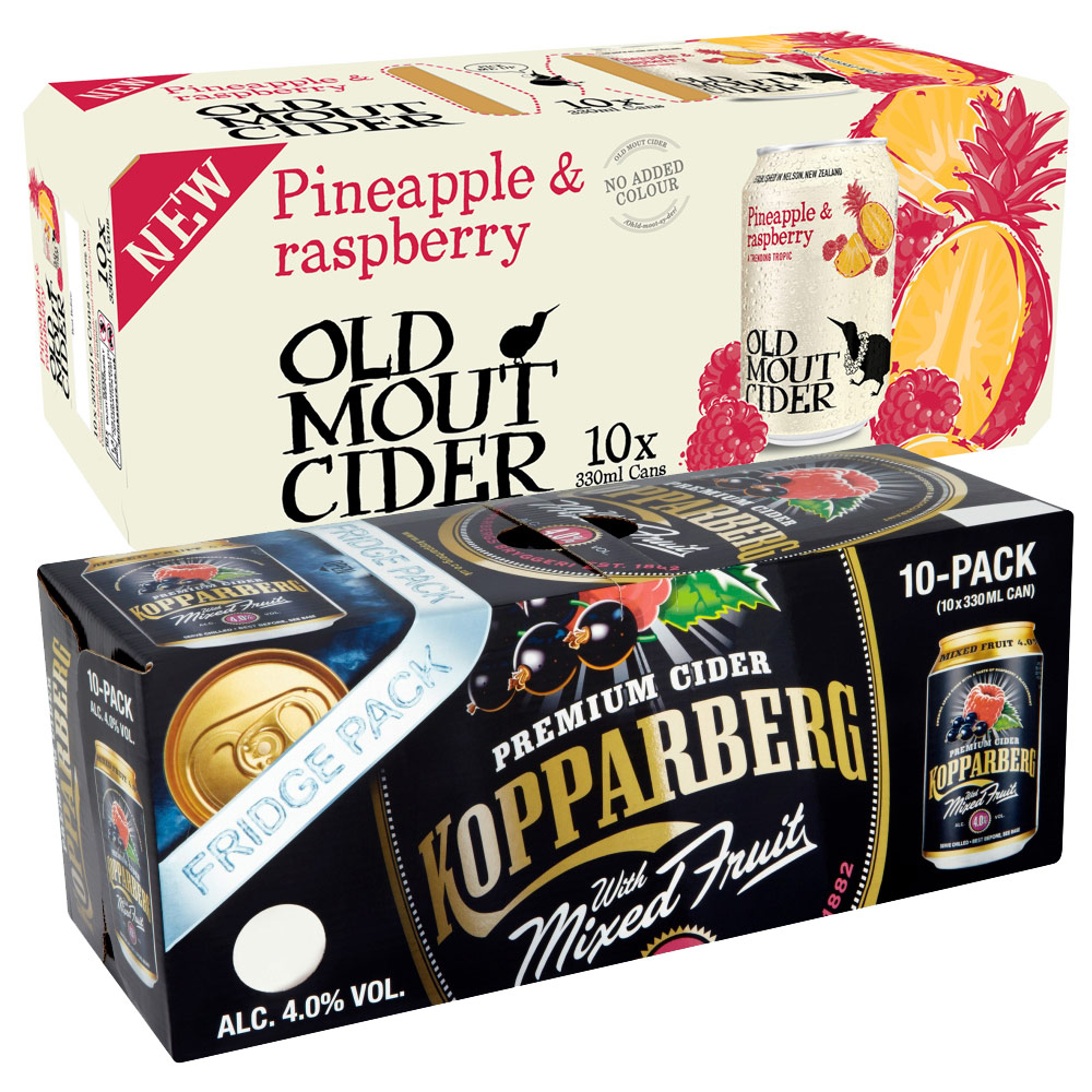 Kopparberg And Old Mout