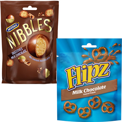 McVities Nibbles and Flipz