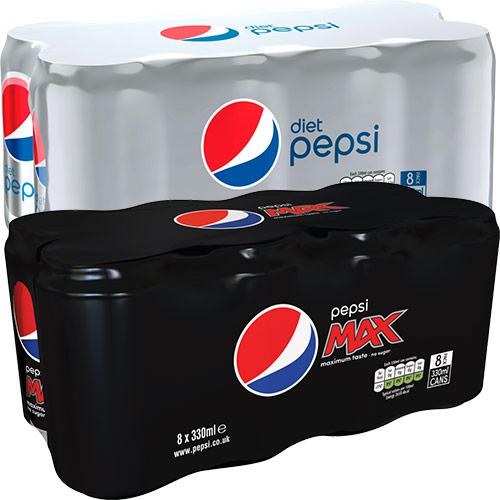 Pepsi 8 Pack