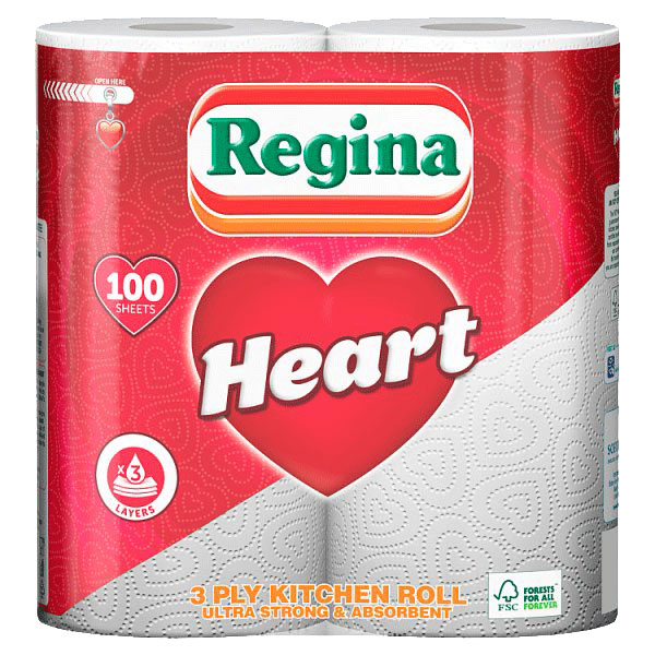 Regina Kitchen Towel Heart