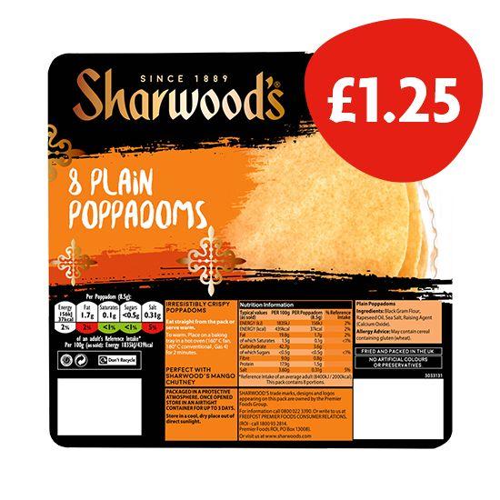Sharwood's Poppadoms
