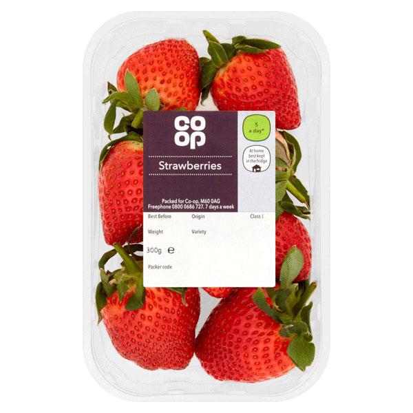 Co-op Strawberry Punnet