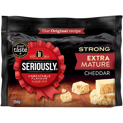 Seriously Strong Cheese