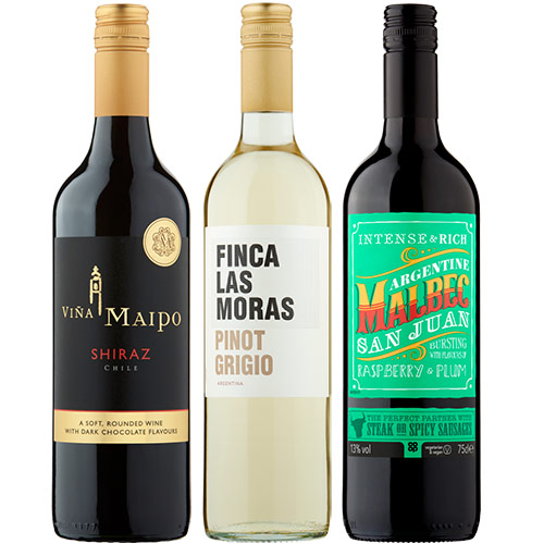 Wines for £5