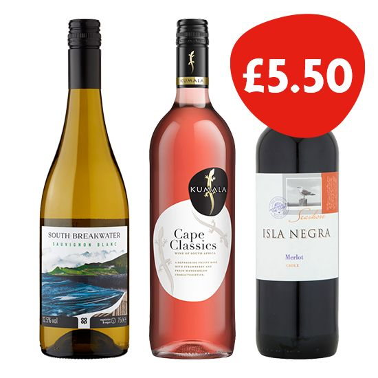 Wines for £5.50