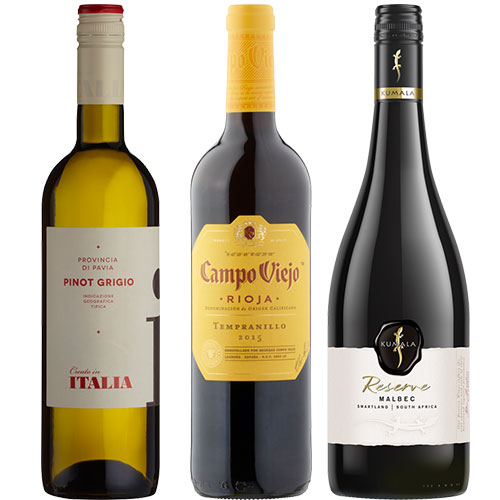 Wines from £6.50
