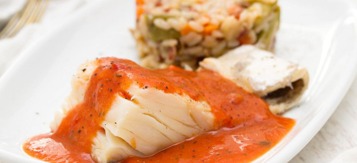 Flakey Baked Cod with Tomatoes and Basil